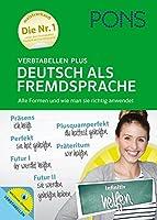 Pons German series: PONS Verbtabellen Plus Deutsch