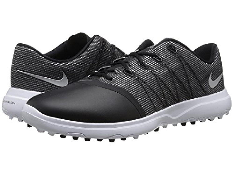 (ナイキ) NIKE レディースゴルフシューズ?靴 Lunar Empress 2 Black/Metallic Silver/White 5 (22cm) B - Medium