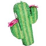 Juvale サボテン パーティー ピニャータ 誕生日 フィエスタ センターピース 装飾 17 x 11.5 x 3インチ