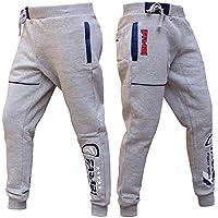 Farabiフリース下部Trouserジョギングスポーツカジュアルパンツトレーニングブラック