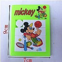 POOM新しい魅力ディズニーミッキーパズル学習教育楽しいおかしいガジェット興味深いおもちゃ子供の誕生日ギフト Brinquedosパズル 知育