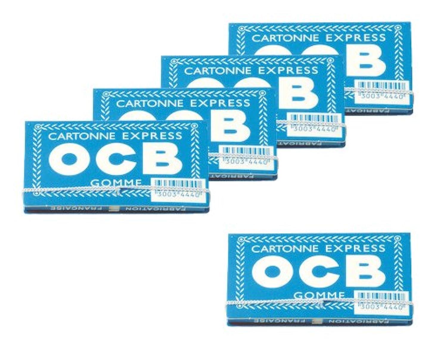 プレビューステッチ平行柘製作所(tsuge) OCB バンド付き 【フリーバーニング ? 100枚入り】 #78893 ×5パック