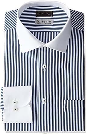 (ピーエスエフエー) P.S.FA(ピーエスエフエー) i-shirt 完全ノーアイロン クレリックアイシャツ M151180001-04 87 87_ネイビー L(首回り41cm×裄丈84cm)