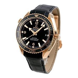 [オメガ]OMEGA 腕時計 Seamaster Planet Ocean ブラック文字盤 コーアクシャル自動巻 600m防水 232.63.42.21.01.001 レディース 【並行輸入品】