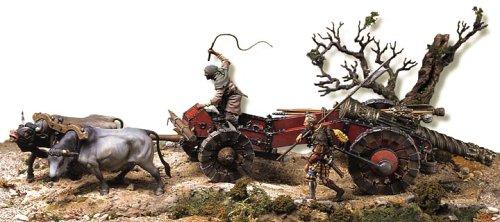 アンドレアミニチュアズ S2-S01 Landsknechts artillery train(1525