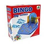 Family Games Bingo Lotto 90番号72Playing Cards for Age 6Years Old Up