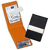 TROIKA マネークリップ付き クレジットカード&ビジネスカードケース インディアンサマー CCC40/LE
