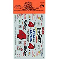 Slixx Decals #9404 1/24 1:25 Kodak Fun Saver #4 NASCAR ファニーカー