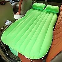 SUVカーインフレータブルマットレストラベルバックシートエアベッドキャンプリアシートスリーピングマットクッションカーショックベッド5色オプション