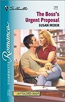 Boss'S Urgent Proposal (Silhouette Romance)
