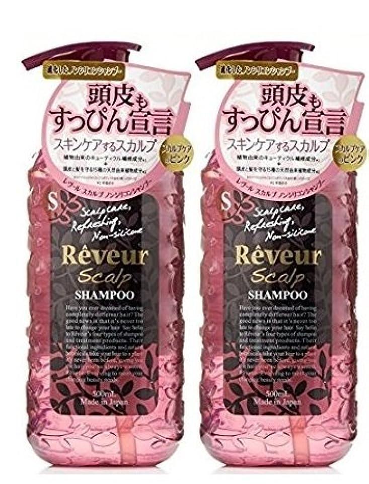 エッセイデコラティブエイズ【まとめ買い×2】 Reveur(レヴール) スカルプ シャンプー 500ml x 2本セット