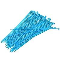 Nrpfell 200ナイロンケーブルタイ2.5 x 200 mm - 青色