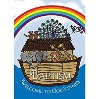 Noah 's Ark Baptismalカード