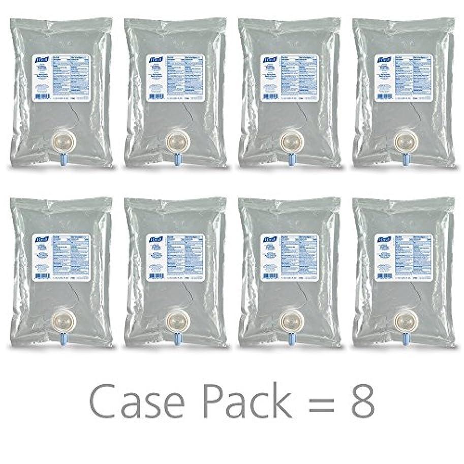 判読できない静めるトランクライブラリPURELL 215608CT Advanced Instant Hand Sanitizer NXT Refill, 1000mL, 8/Carton by Purell