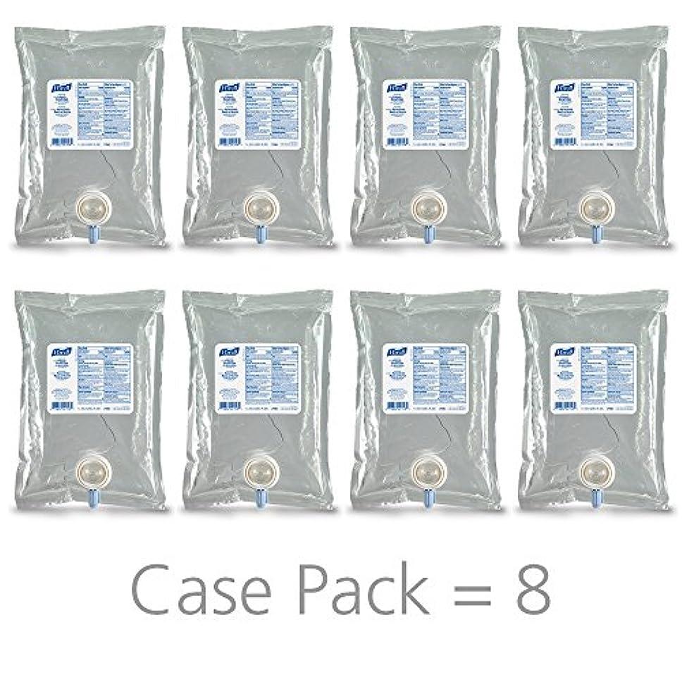 コンパクト四面体銀行PURELL 215608CT Advanced Instant Hand Sanitizer NXT Refill, 1000mL, 8/Carton by Purell