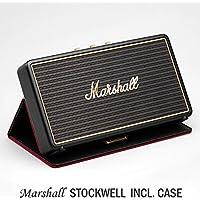 Marshall Stockwel マーシャル「ストックウェル」(フリップカバー付きモデル) /Bluetooth搭載のコンパクトスピーカー/ポータブル・アウトドア/