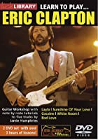 Lick Library: Learn To Play Eric Clapton / リック・ライブラリ:ラーン・トゥ・プレイ・エリック・クラプトン ギター 2 x DVD (リージョン 0)