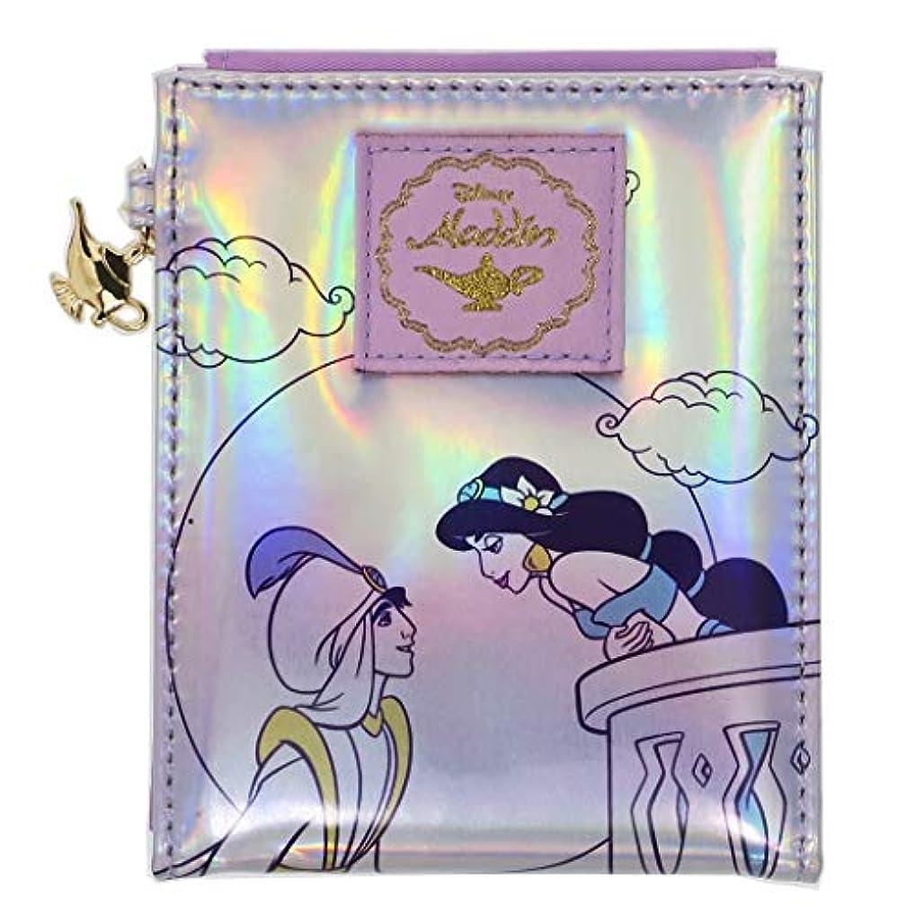 半導体ネクタイリマアラジン[手鏡]ファブリックスタンドミラー/トラベルシリーズ ディズニー