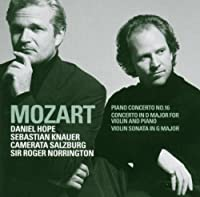 Piano Concerto No 16 in D by W.A. Mozart (2005-03-08)
