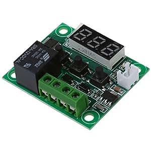 SODIAL(R)DC 12Vサーモスタットサーモスタット温度熱センサスイッチ-50~110℃