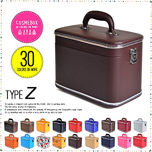 コスメボックス 化粧収納ボックス トレンケース 化粧雑貨 ポーチ (Z30/デニム)