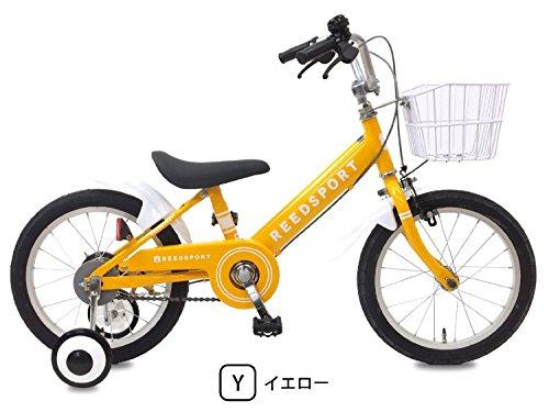 リーズポート(REEDSPORT) 14インチ イエロー 補助輪付き 組み立て式 子供用自転車 幼児自転車