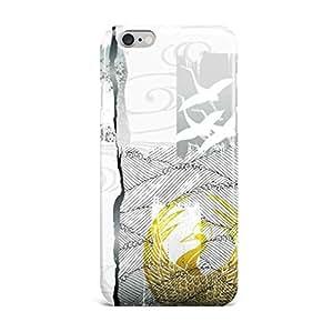 iPhone5s SE 6 6s plus 7 plus 刀剣 ケース おしゃれ ハート型 高品質 人気 刀紋 保護カバー (iphone 7, 鶴丸)
