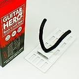 壁美人 ホチキスで取付壁掛けフック 石こうボード専用ギター掛け ギターヒーロー 白 痕が目立たない GH-02W
