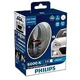 PHILIPS(フィリップス) フォグランプ LED バルブ H8 H11 H16 対応 6000K 2400lm 12V 10W エクストリームアルティノン X-treme Ultinon 車検対応 3年保証 2個入り 12834UNIX2JP