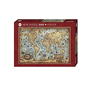 HEYE Puzzle ヘイパズル 29275 The World : The World (3000 pieces)