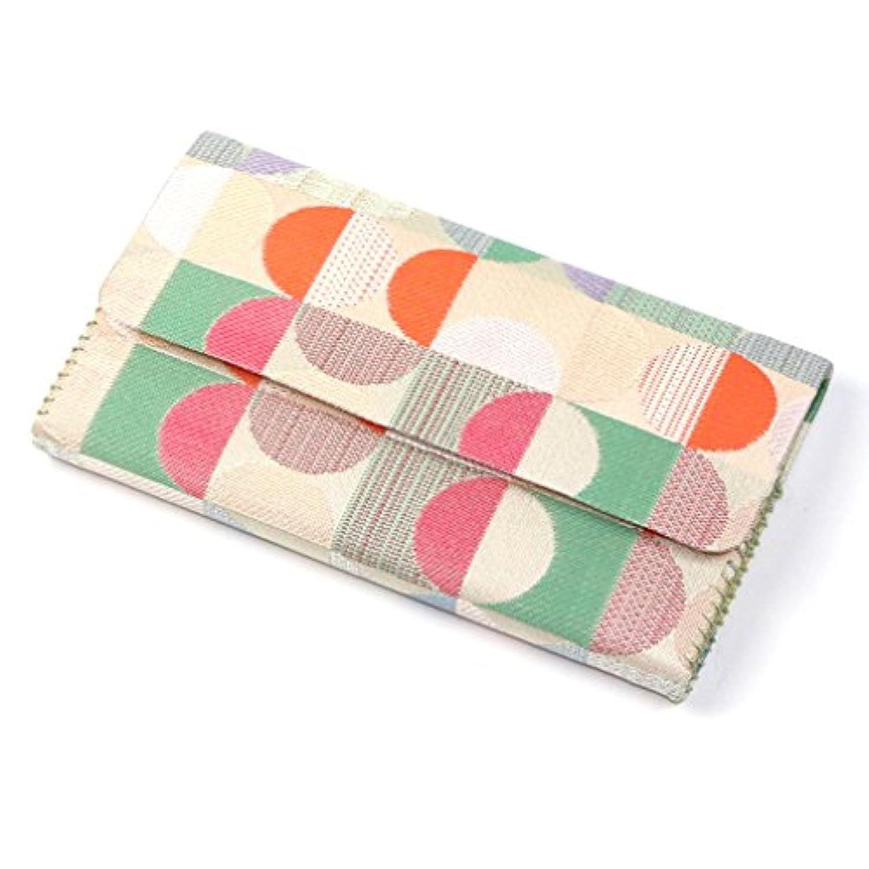 【 茶道具 袱紗ばさみ ? 懐紙入れ 】 三つ折 帛紗ばさみ 交織 稽古用 和風モダン