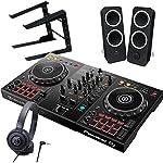 Pioneer DJ パイオニア DDJ-400 + ATH-S100 + Z200 + ラップトップPCスタンド 買い足し不要 DJスタートセット