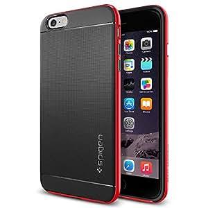 【Spigen】 iPhone 6 Plus ケース, [ 二重構造 スリム フィット 米軍MIL規格取得 ] ネオ・ハイブリッド アイフォン 6 プラス 用 (ダンテ・レッド SGP11252)