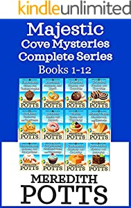 Majestic Cove Mysteries Complete Series Books 1-12 (English Edition)