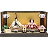 雛人形 親王平飾り【花ごろも】 [幅60cm] 平安優香 [193to1418-a4] 雛祭り