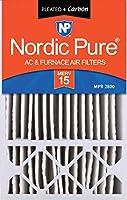 Nordic Pure MERV 15Plusカーボンエアフィルタ数量1Honeywell交換用 16x25x5 16x25x5HM15+C 1