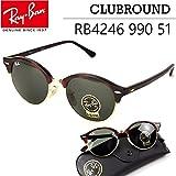RAY-BAN 【国内正規商品】レイバン Ray-Ban クラブラウンド CLUBROUND RB4246 990 51