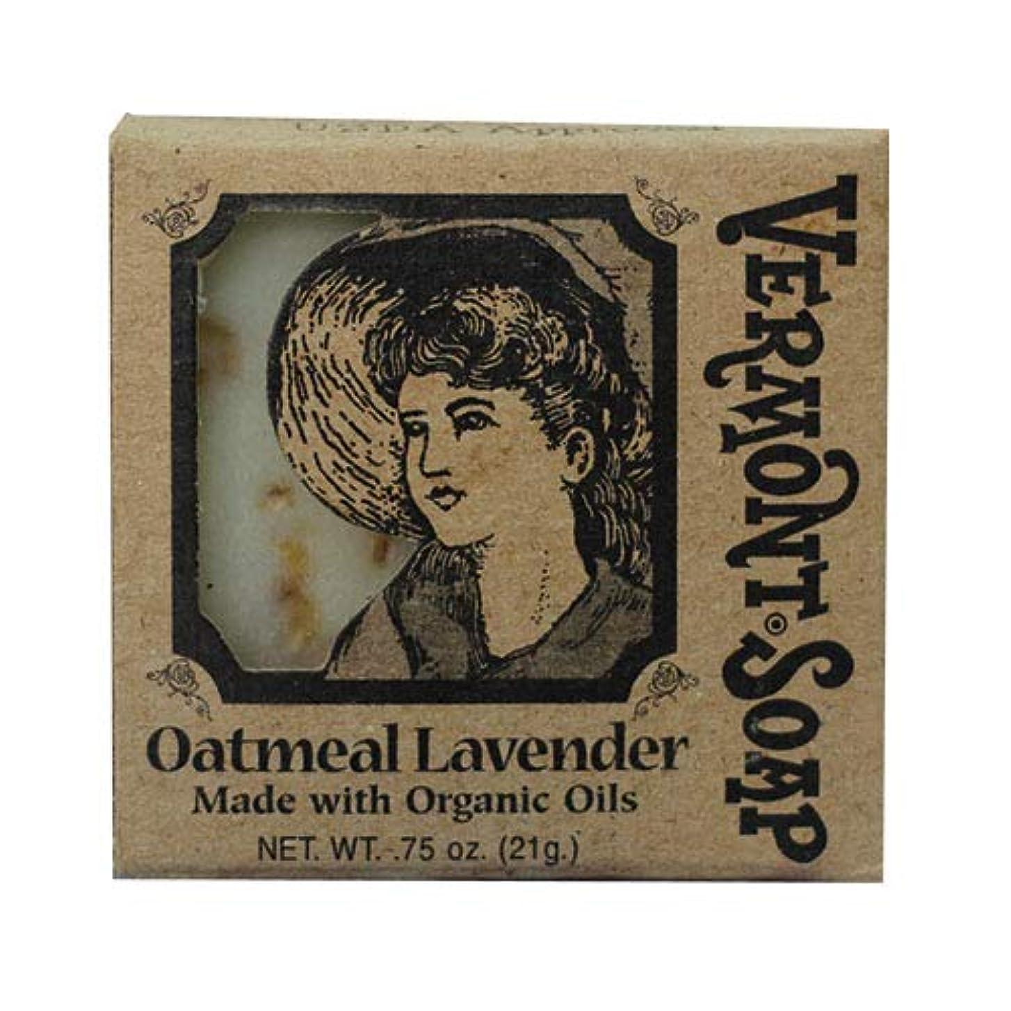 魅力的欠員賃金VermontSoap バーモントソープ トラベルサイズ 3種類 (オートミール ラベンダー) 21g オーガニック石けん 洗顔 ボディー