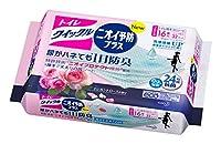 トイレクイックル トイレ用洗剤 ニオイ予防プラスローズ 詰替用 16枚