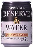 サントリー リザーブ&ウォーター 250ml×24缶