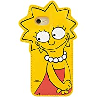 ザ シンプソンズ THE SIMPSONS iPhone8 iPhone7 ケース iP7-SIM04 バックカバー リサ