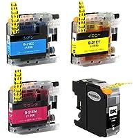ブラザー ( brother ) LC21E 対応の互換インクカートリッジ LC21EC LC21EM LC21EY 4色セット残量表示チップ搭載 対応機種 DCP-J983N