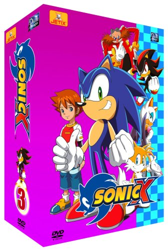 Sonic X - Partie 3 - Coffret 4 DVD - VF