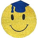 Congrats Grad Pinataブルー帽子16