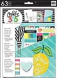作成365The Happy Planner学生Editionクラシックアクセサリーパック&ポケットフォルダpsap-01