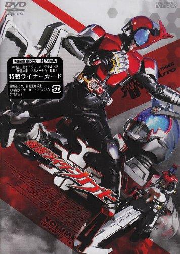 仮面ライダーカブト VOL.4 [DVD]の詳細を見る