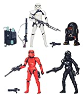 """STAR WARS THE BLACK SERIES IMPERIAL FORCES 6"""" 4-PACK ACTION FIGURES EXCLUSIVE"""