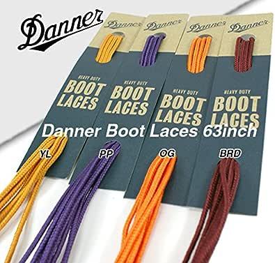 [ダナー] 靴紐 シューレース ブーツ レース 63インチ ハトメ片側9つ向け メンズ Boot Laces 約160cm アウトドア ヒモ