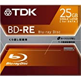 TDK ベアタイプ データ用ブルーレイディスク 繰り返し記録用 BD-RE 25GB [BDD-RE25S]