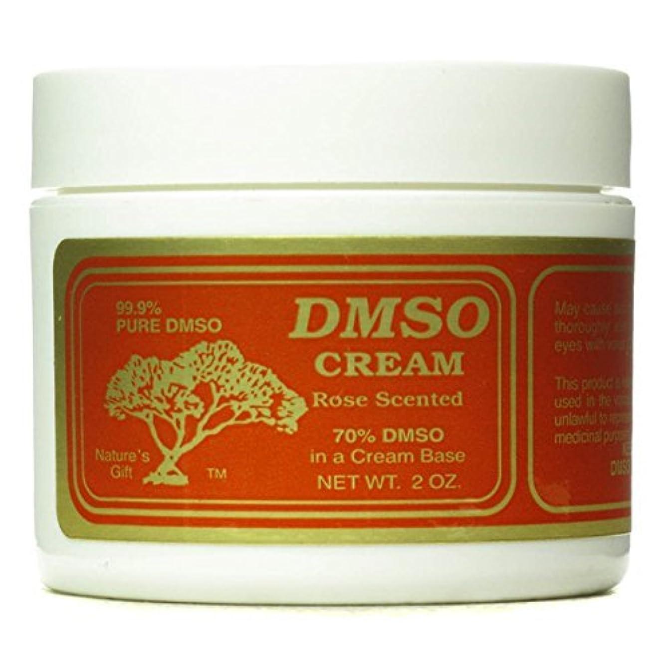 へこみ保護容量Dmso - DMSO Cream Rose Scented 2 oz [並行輸入品]